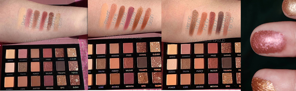 18 colors nude eye shadow palette