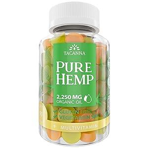 tacanna pure hemp gummies hemp oil gummy ultra value hemp extract pain relief anxiety natural hemp