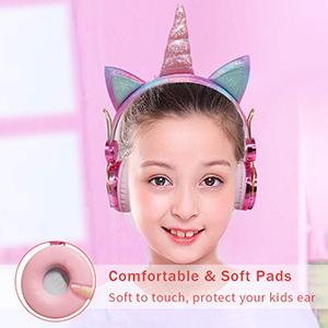 kids headphones volume limiting