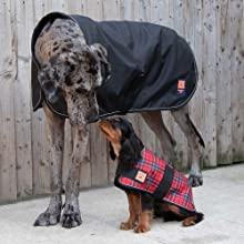 Ginger Ted Shower Waterproof GreyhoundLurcherWhippet Dog Coat Extra Large size 28inch 71cm Cherry Red