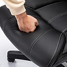 Leather Executive Office Chair Computer Desk Chair