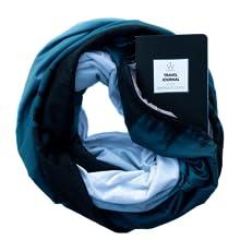 travel scarf journal prompted denver