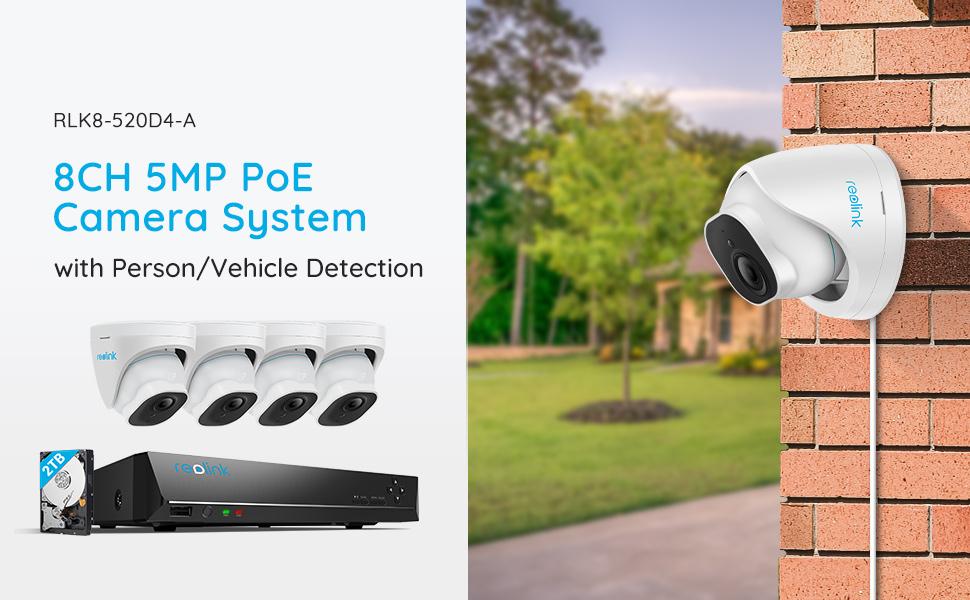 520D4-A Security Camera System