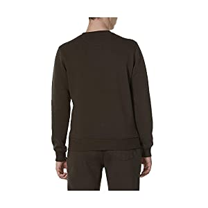 khaki sweatshirt warm sport cool jogging fleece