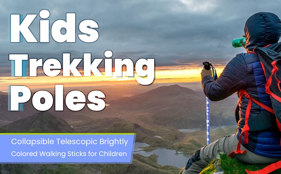 Kids trekking poles