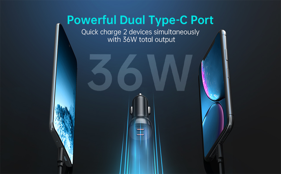 Dual type-c Carr Charger