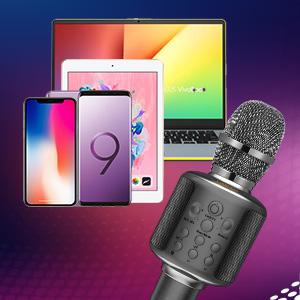 Karaoke microphone iPhone
