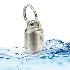 titanium waterproof pill case