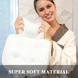 super soft bathtub pillows for tub bubble bath for women accessory bathroom tub mattress