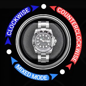 Watch winding directions