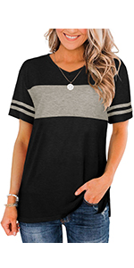 loose fit t shirts for women