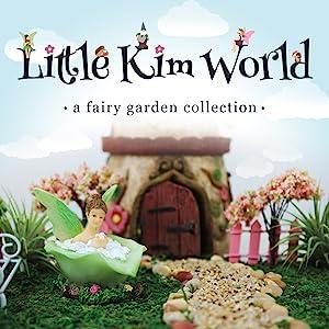 fairy garden figurine toy mini miniature gnome set kit kids children