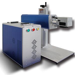 Fiber Laser Marking deep Engraving Machine