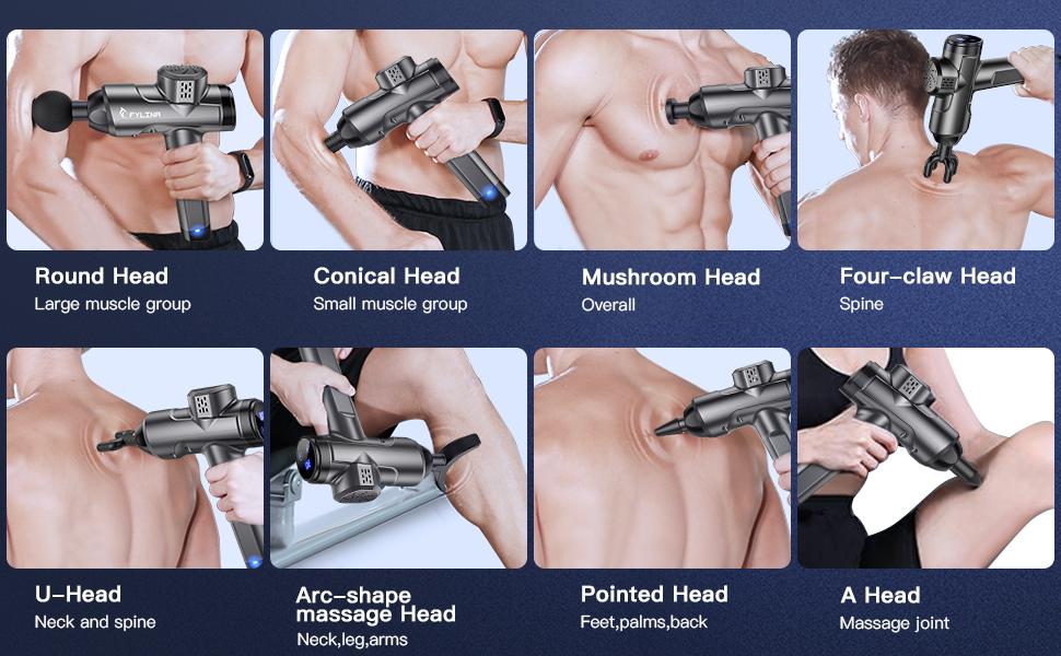 Professional Deep Tissue Massage Gun