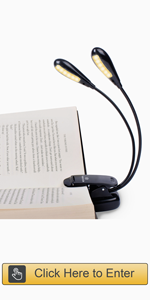 12 LED Book Light