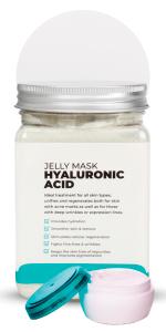 Hyaluronic Acid Jelly mask Hydro Jellymask avery rose