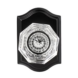 black crystal door knob