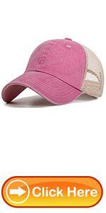 MESH BACK HATS