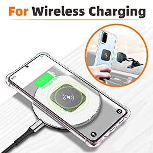 For wireless charging plate