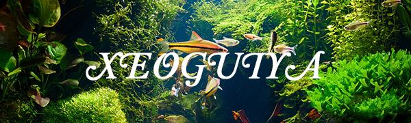 XEOGUIYA 3W 240L/H Turtle Fish Tank Filter