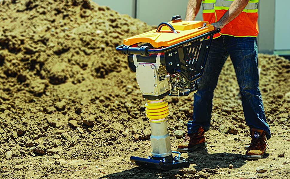 tamping rammer tamper plate compactor steel shoe jumping jack wacker multiquip trench compaction usa