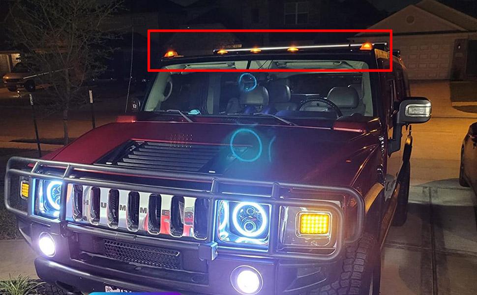 hummer h2 lights