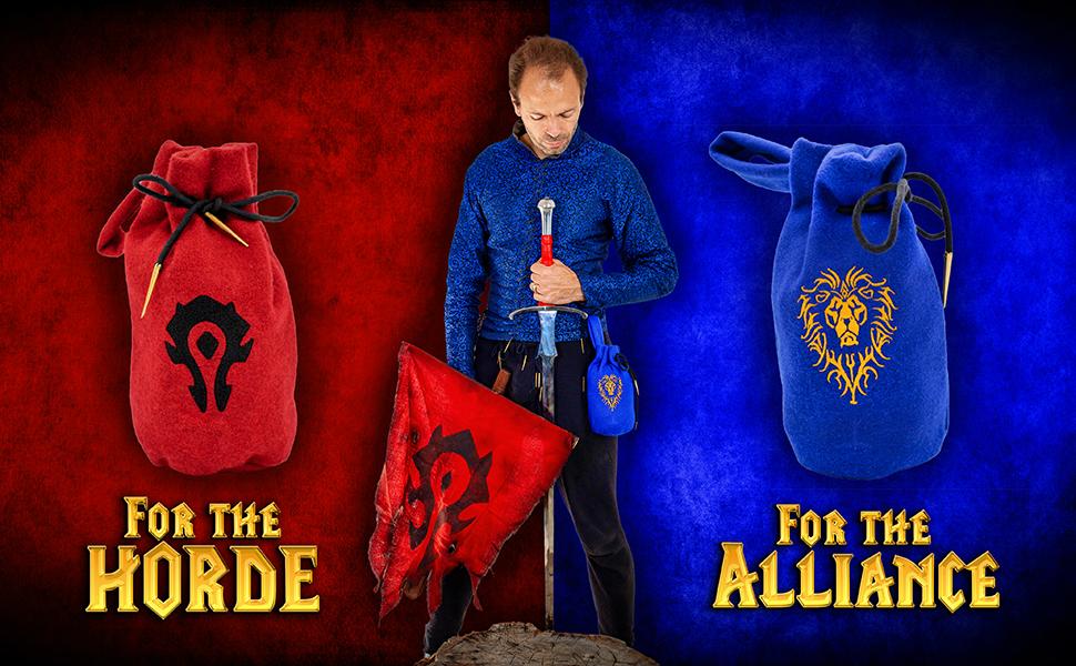 Mythrojan WOW blood elf elves world bag SCA LARP ELF knight medieval D&D renaissance pouche WARCRAFT