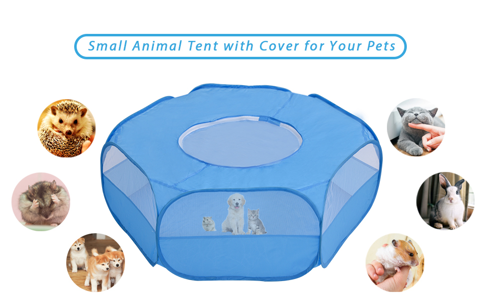 cage tent for small animals