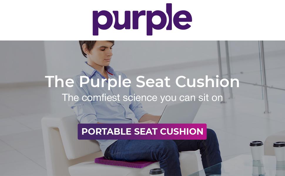 Portable Seat Cushion large purple seat cushion on purple seat cushion seat cushion purple brand