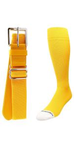 Gold Sock Belt Combo