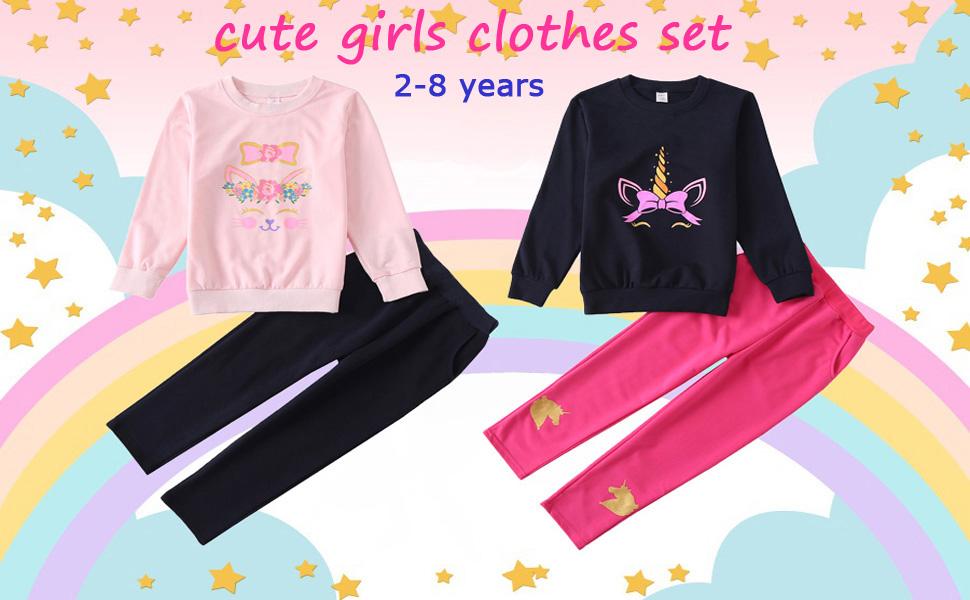 girls clothes set