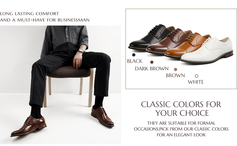 The oxford dress shoes for men