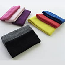 """3"""" wide soft cotton terry cloth head band for spa cosmetic surgeons"""