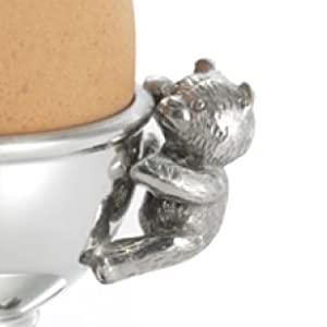 Royal Selangor Hand Finished Teddy Bear's Picnic Collection Pewter Egg Cup