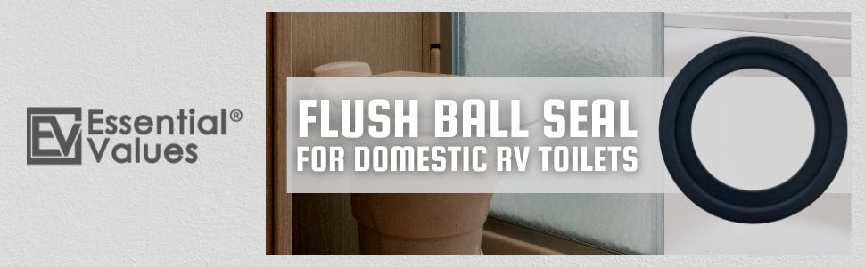 Flush Ball Seal