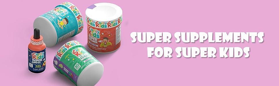 Super Supplements for Super Kids