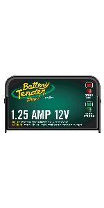 Battery Tender Plus 12V, 1.25A Battery Charger and Maintainer
