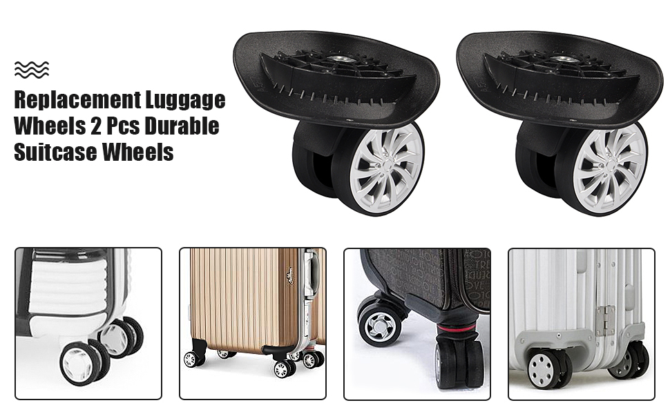Directional luggage wheels replacement Luggage Accessories JL006# For DIY