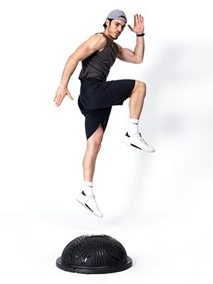 balance ball half