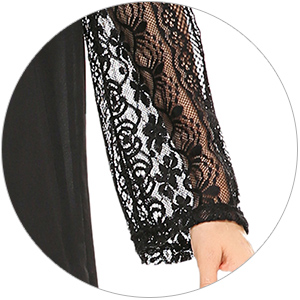 Hollow Lace Dress