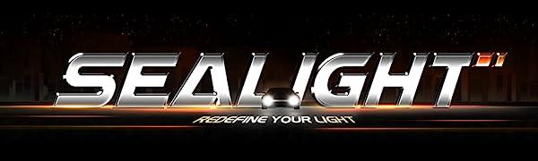 SEALIGHT 9005 and H11 LED headlight bulbs