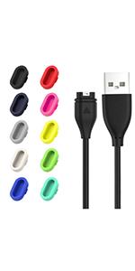 USB-Ladekabel für Fenix 5 5X vivoactive 3 vivosport FsYB J WCY 5S