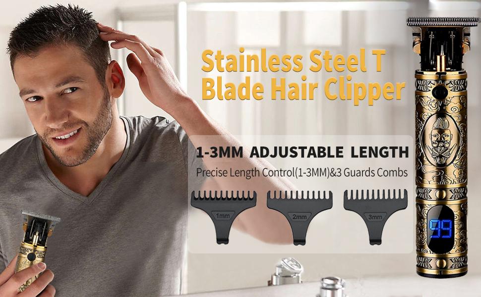 mens hair and beard trimmer