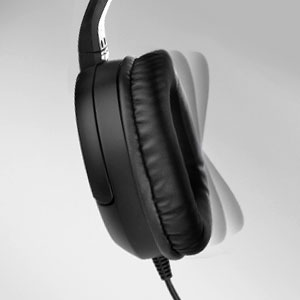 Extrem weiche Kopfhörer mit Ohrmuschel