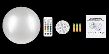 Was Sie in der Verpackung von LED Leuchtkugel erhalten