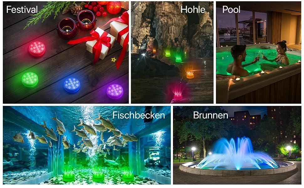 Zenoplige Unterwasser Licht