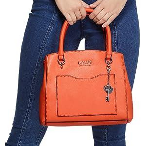 guess women woman handbag bag purse wallet carry accessories