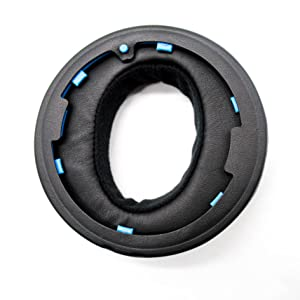 rear of ear pad cushion attachment installation clips