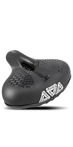 Most Comfortable Bike Seat for Seniors Extra Wide and Padded Bicycle Saddle for Men Women Comfort