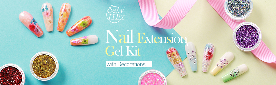 Sexy Mix Nail Extension Gel Kit